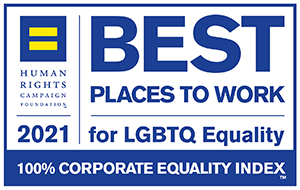 Human Rights Campaign Best Places to Work for LGBTQ Equality 2021