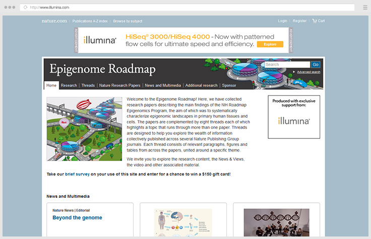 Epigenome Roadmap